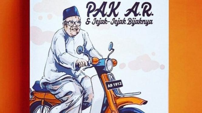 KH Abdul Rozak Fachrudin alias Pak AR (Foto/Twitter/Faried Wijdan)
