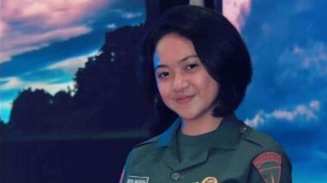VIVA MILITER: Deva Natasya Wijaya, Prajurit Kopassus Imut