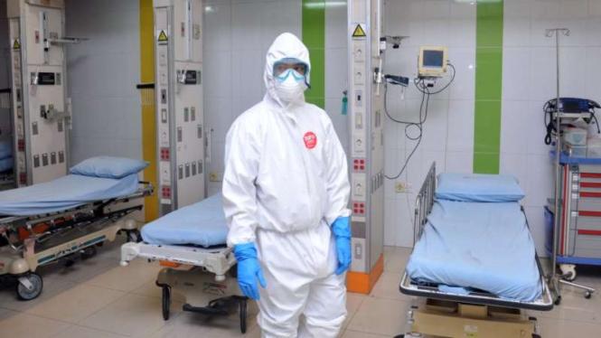 Ruang isolasi rujukan khusus pasien COVID-19  (Foto ilustrasi)