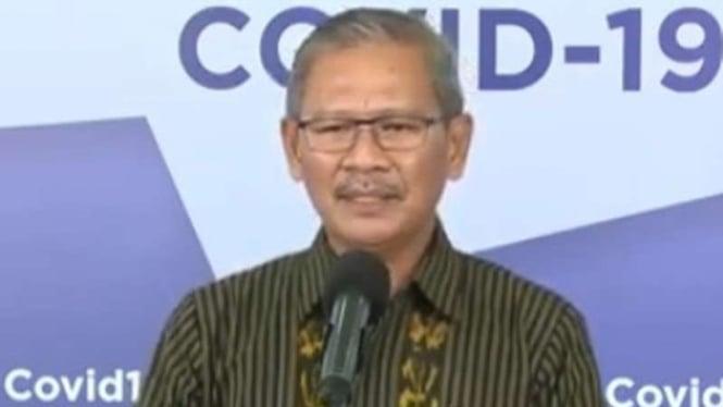 Juru Bicara Pemerintah untuk penanganan COVID-19, Achmad Yurianto.
