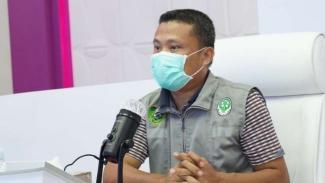 Juru Bicara Gugus Tugas Covid-19 Sumatera Selatan, Yusri.