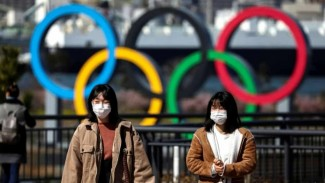 Suasana di Jepang di tengah pandemi COVID-19.