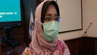 Direktur Utama RSUD Kota Depok, dokter Devi Maryori