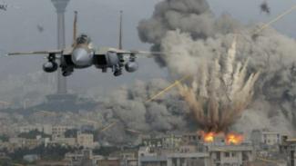 VIVA Militer: Serangan jet tempur Angkatan Udara Israel (IAF) di Suriah