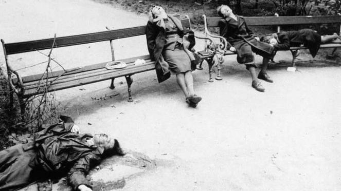 VIVA Militer: Mayat-mayat wanita Austria yang bunuh diri pasca kekalahan Nazi