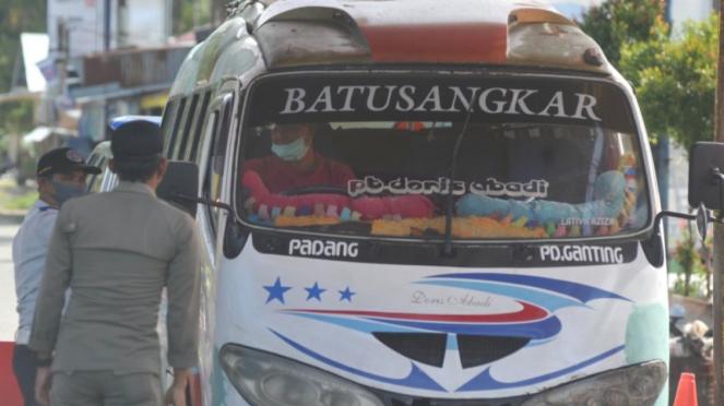 Perpanjangan PSBB di Padang Sumatera Barat