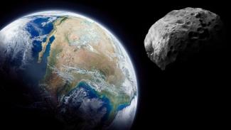 Asteroid mendekat ke Bumi.