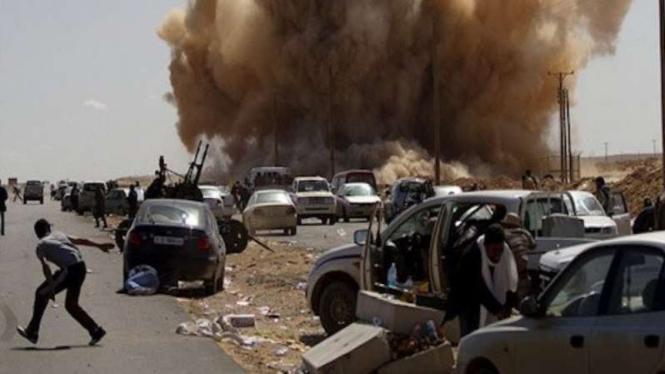 VIVA Militer: Serangan Tentara Nasional Libya (LNA) di Tripoli