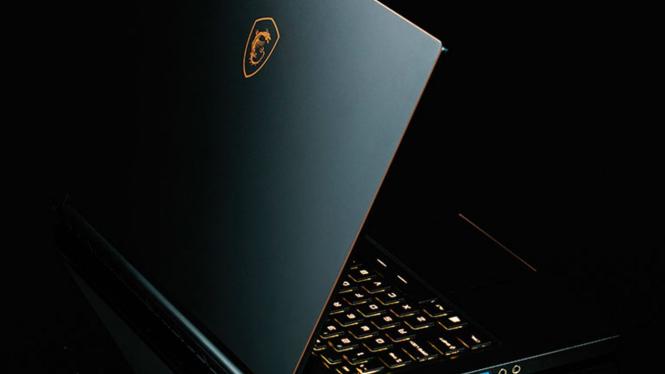 Laptop gaming MSI.