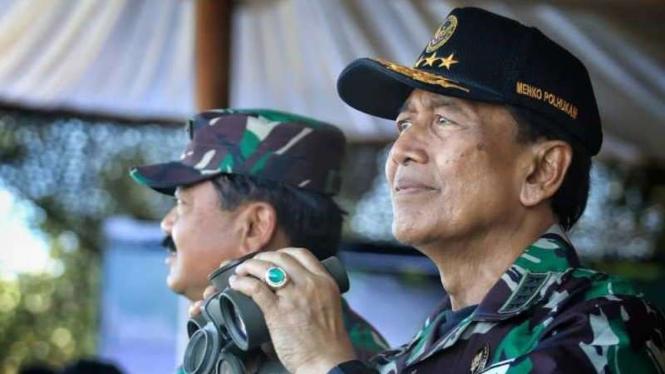 VIVA Militer: Menkopolhukam, Jenderal TNI (Purn) Wiranto