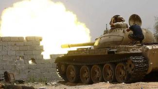 VIVA Militer: Tank milik Pasukan Pemerintah Kesepakatan Nasional Libya (GNA)