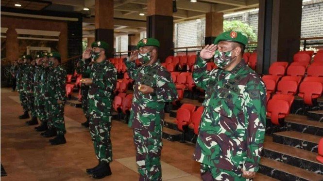 VIVA Militer: Kasad Jenderal TNI Andika Perkasa Pimpin Upacara Sertijab