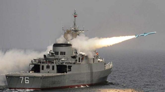 VIVA Militer: Kapal perang kelas Moudge Fregate Jamaran (Ilustrasi)