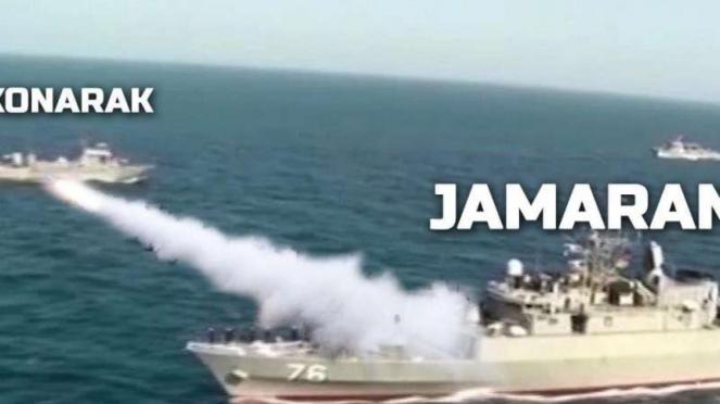 VIVA Militer: Kapal perang kelas Moudge Fregate Sahand