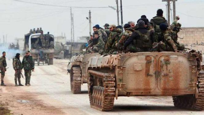 VIVA Militer: Pasukan Angkatan Bersenjata Suriah (SAA)