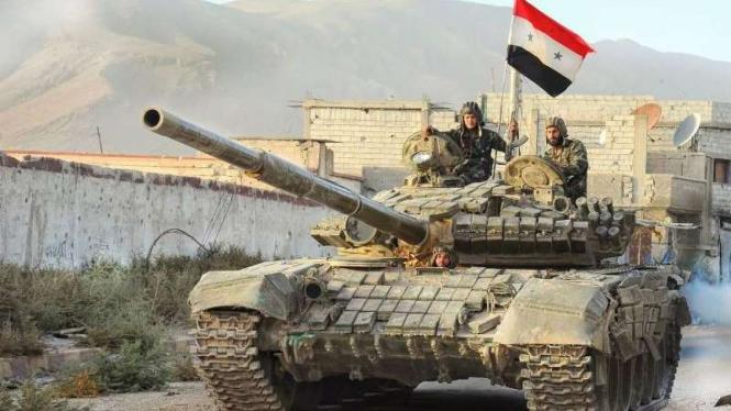 VIVA Militer: Pasukan Tentara Arab Suriah (SAA)