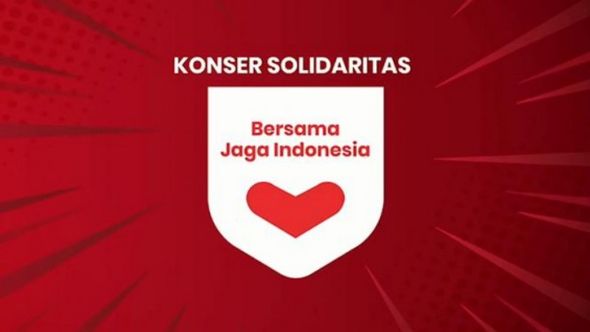 Konser Solidaritas Bersama Jaga Indonesia.