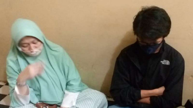 Az (13), siswa SMP korban penculikan polisi gadungan.