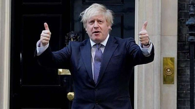 Perdana Menteri Inggris, Boris Johnson.