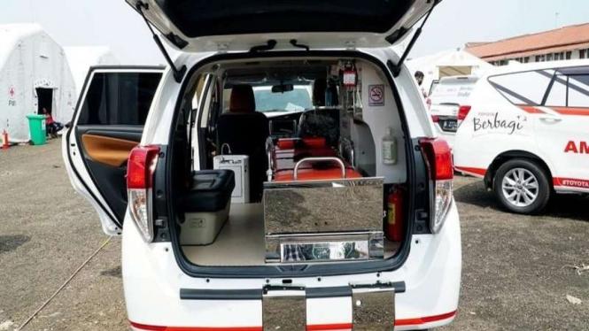 Ada Virus Corona, Toyota Sematkan Wastafel di Kabin Kijang Innova