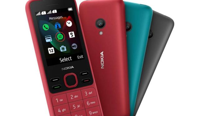 Ponsel baru Nokia 125 dan 150 akan diluncurkan di Indonesia.
