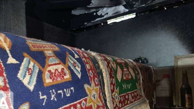 VIVA Militer: Makam Ratu Esther yang dibakar.