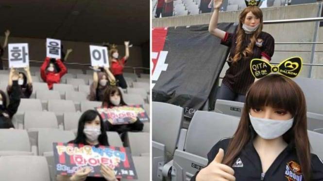 Sex doll di stadion FC Seoul