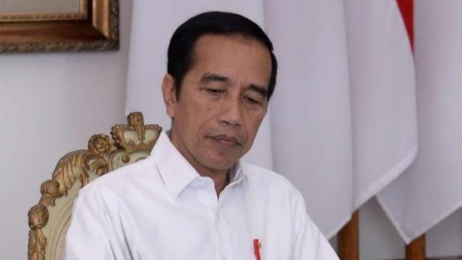 Presiden Joko Widodo ketika mengumumkan kenaikan BPJS Kesehatan (Foto: Biro Pers Sekretariat Presiden)