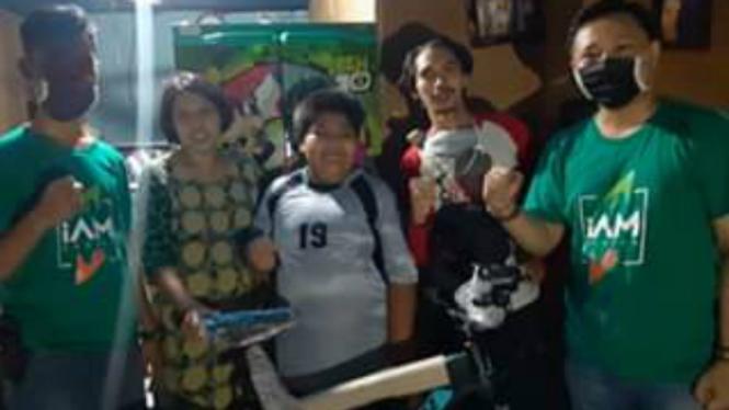 Rizal, Penjual Jalangkote Korban Bully, dapat Sepeda Baru dan Beasiswa