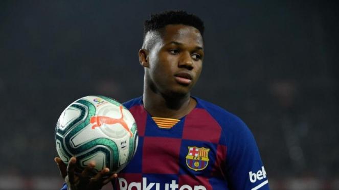 Striker muda Barcelona, Ansu Fati