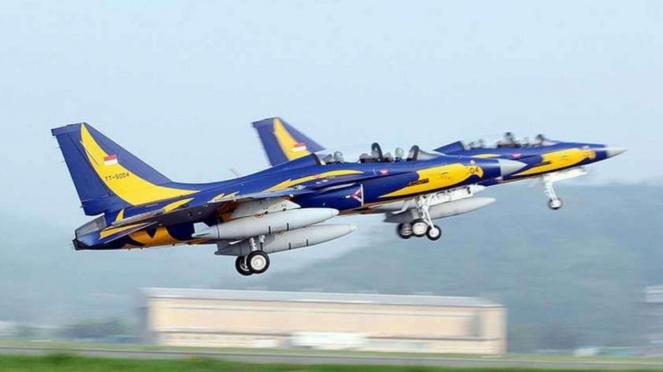 VIVA Militer: Pesawat Tempur T50i Golden Eagle