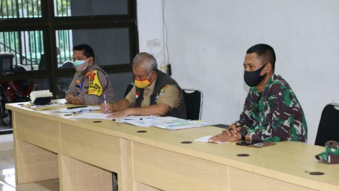 Rapat kordinasi terkait salat Idul Fitri antara Pemkot  Bekasi dengan MUI