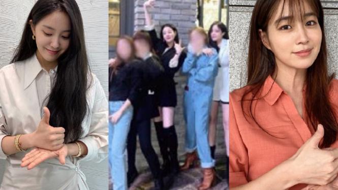 Hyomin T-ARA, Lee Min Jung, Lee Jooyeon dan Son Yeon Jae.