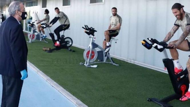 Florentino Perez dan Pemain Real Madrid