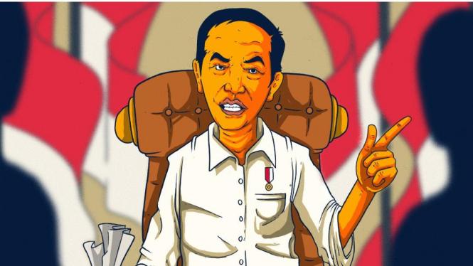 Ilustrasi Jokowi