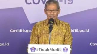 Jubir Pemerintah untuk penanganan COVID-19, Achmad Yurianto.