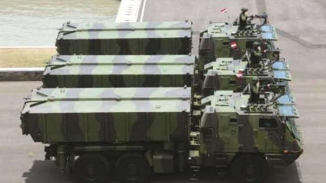 VIVA Militer: MLRS Astros II MK6 AV-LMU, Peluncur Roket Andalan TNI AD