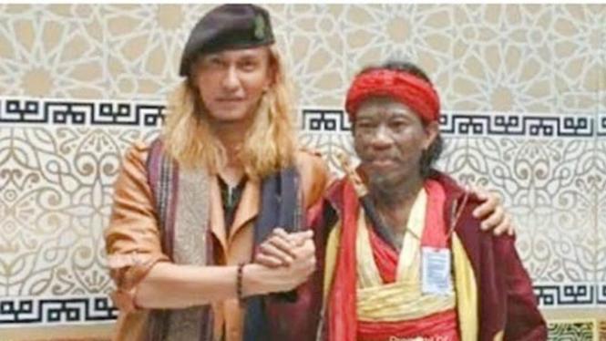 Habib Bahar bin Smith bersama Udin Balok