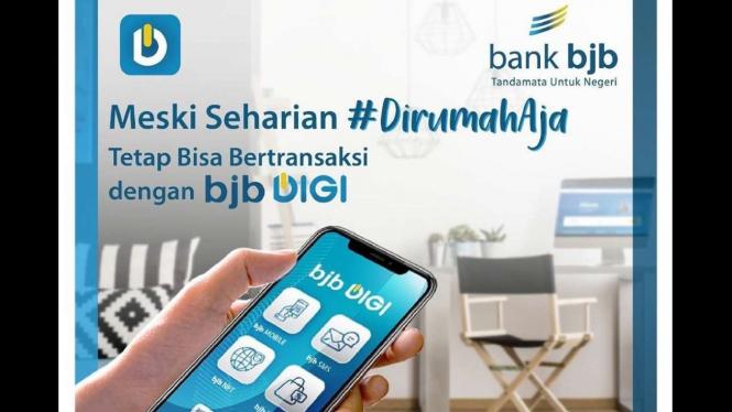 Bertransaksi online dengan bjb digi dari bank bjb.