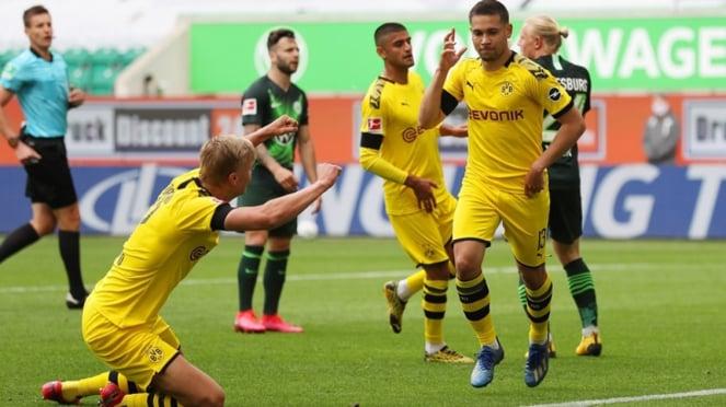 Pertandingan Wolfsburg vs Borussia Dortmund