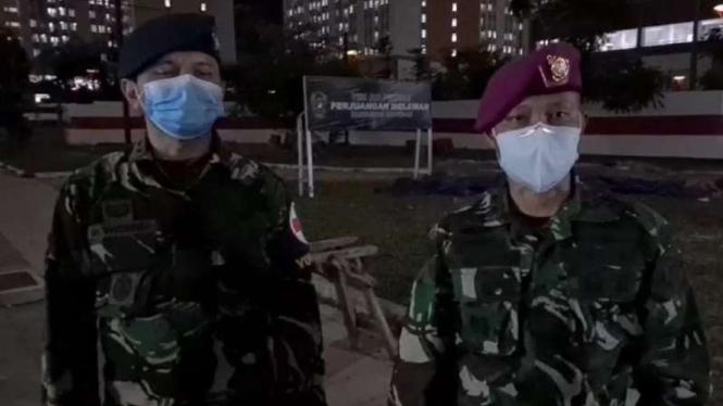 VIVA Militer: Letkol Laut drg M Arifin dan Letkol dr Heru Wisnu