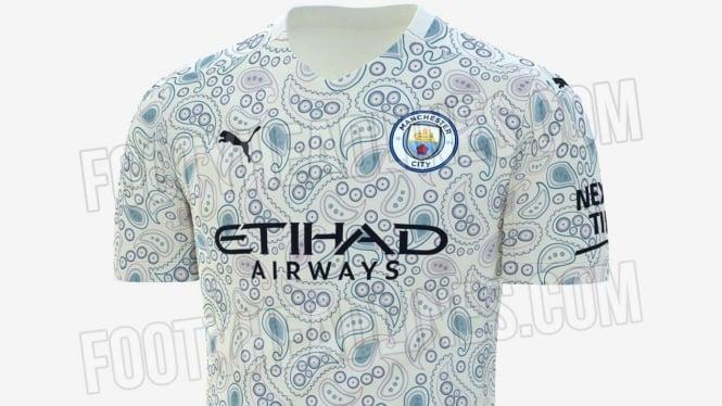 Bocoran jersey terbaru Manchester City
