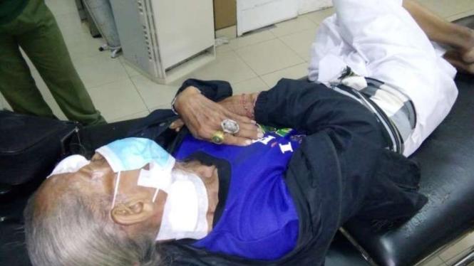 Lansia di Bali sekarat setelah dianiaya dituduh tukang santet