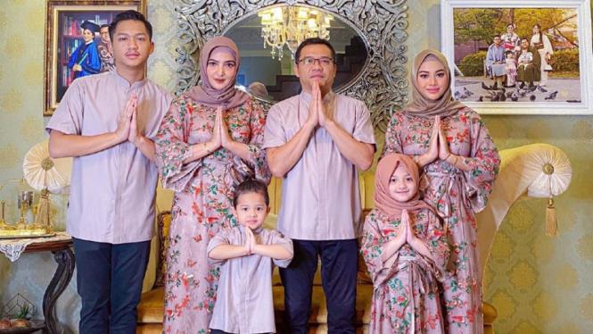 Keluarga Anang Hermansyah dan Ashanty.