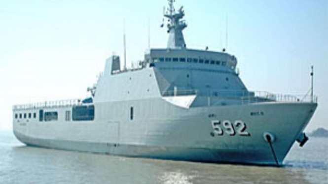 VIVA Militer: KRI Banjarmasin 592