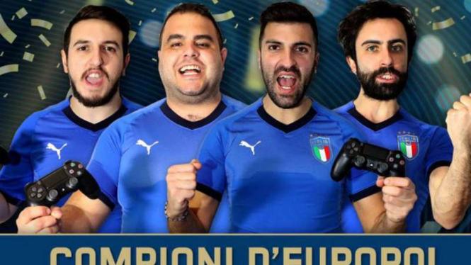 Italia juara eEuro 2020.