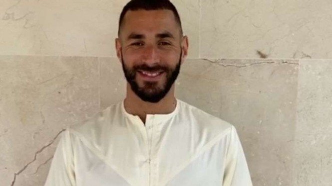Bomber Real Madrid, Karim Benzema.