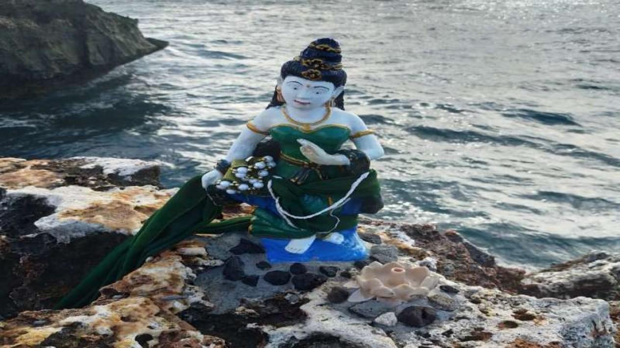 Patung Nyi Roro Kidul muncul di Nusa Dua, Bali