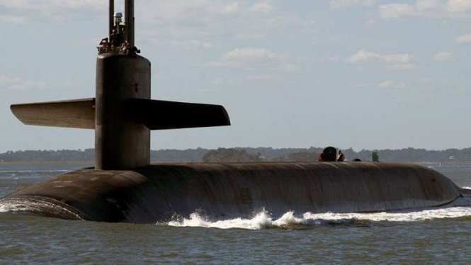 VIVA Militer: Kapal selam rudal nuklir