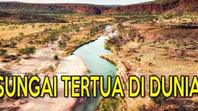 Finke - Sungai Tertua di Dunia